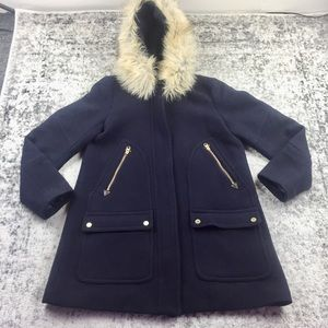 J. CREW Stadium Wool Coat